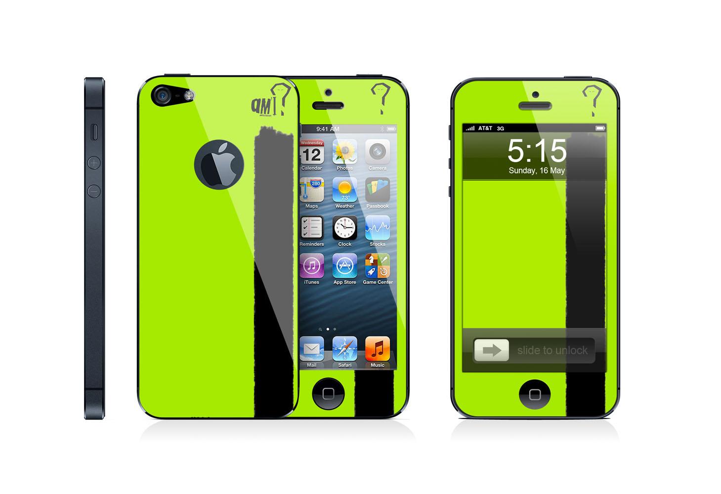 Skin per iPhone 4, 4s e 5