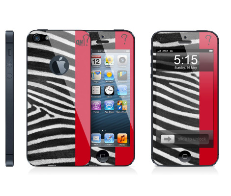 Skin zebra per iPhone